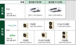 画像2: 東京・業務用エアコン ダイキン 厨房用エアコン ワイヤード ツイン同時運転マルチ SZZT160CBD 160形(6馬力) ECOZEAS80シリーズ 三相200V